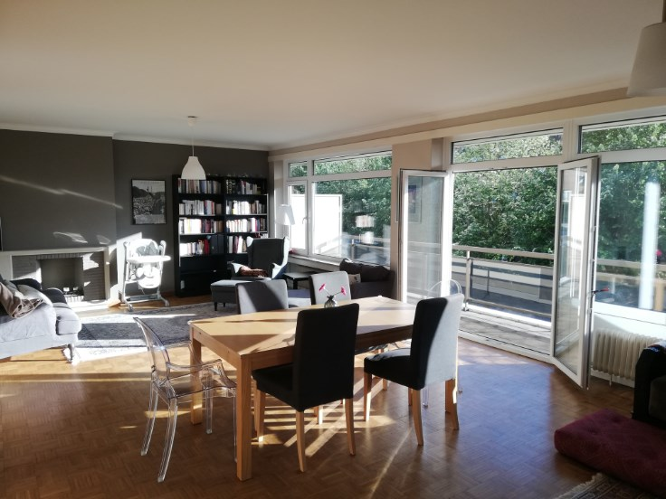 photo_Roodebeek, a sublime 2 bedroom apartment + office with terrace.