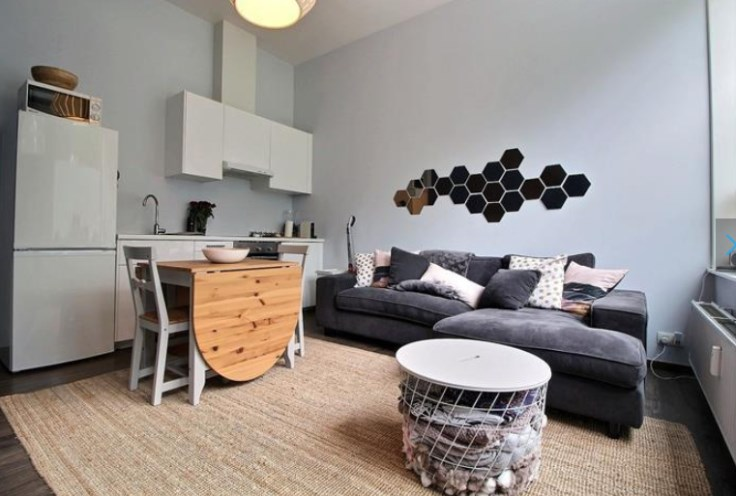 photo_EUROPEAN DISTRICT - 1 BEDROOM FURNISHED APARTMENT + TERRACE