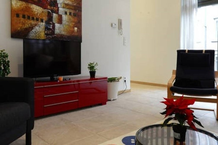 photo_Ambiorix Quarter, sublime Duplex 2 rooms furnished with balcony.