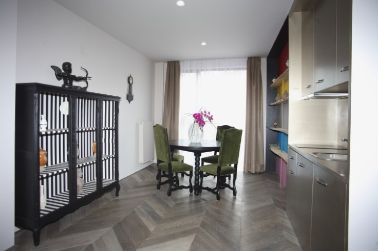 photo_Between Jourdan / Hunting, sublime furnished 1 bedroom apartment with terrace.