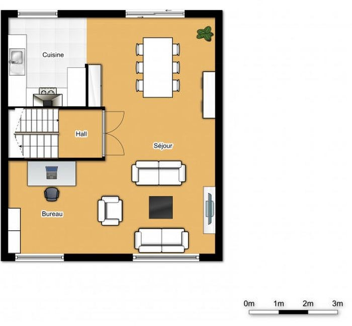 photo_WSL House 4 bedrooms + garden + garage possible furnished