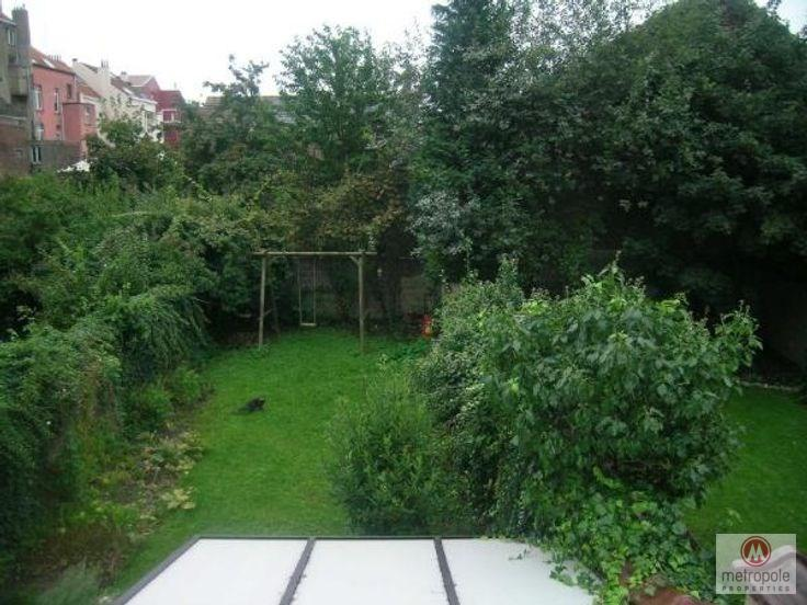 photo_Ixelles/ULB - Apartment building with 3 recognized units with garden and terrace