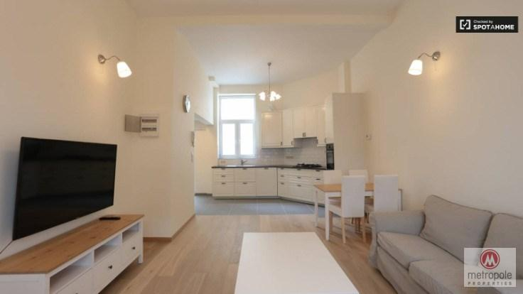 photo_PLACE FLAGEY - GROUND FLOOR 90M² - 2 BEDROOMS - COURTYARD