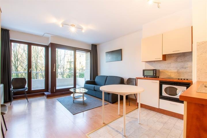photo_Stockel - Bright and furnished studio with terrace