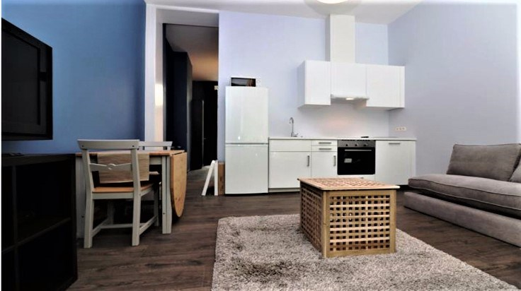 photo_Schuman area, beautiful small furnished 1 bedroom with terrace