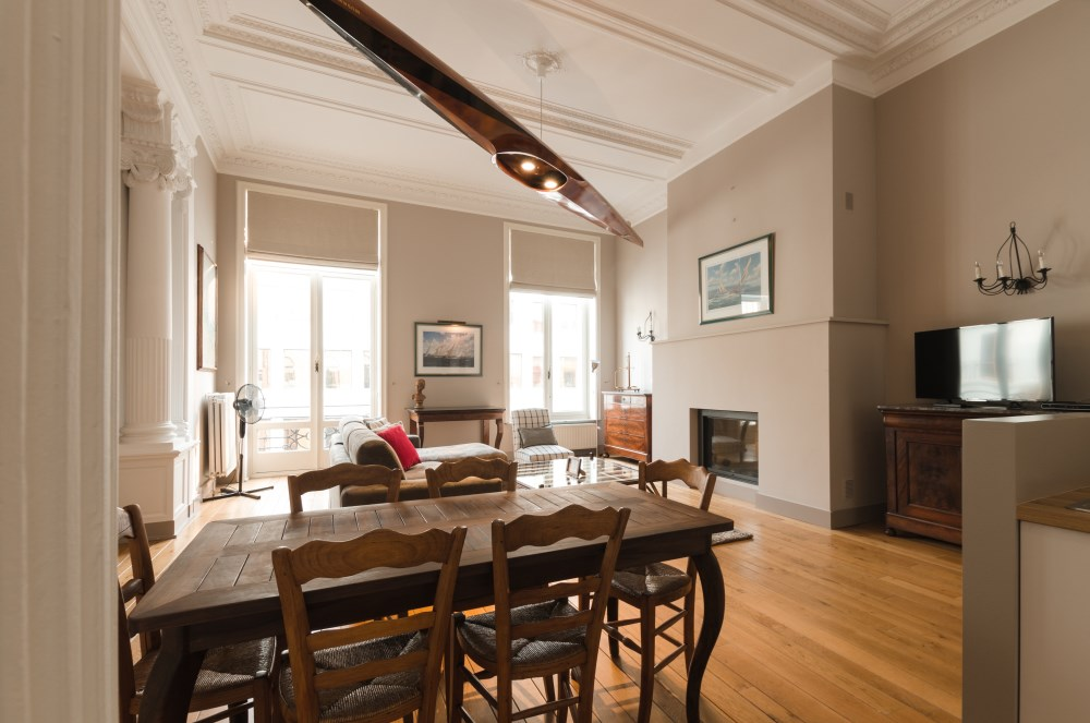 photo_Between Sablon and Grand Place, beautiful furnished 2 bedroom appartment
