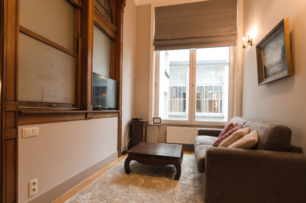 photo_Between Sablon and grand Place, magnificent furnished 1 bedroom apartment