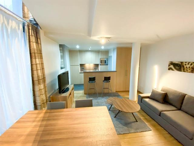 photo_Schuman district - Very nice furnished and cozy 1 bedroom duplex