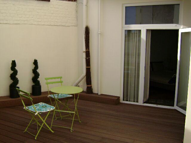 photo_Boileau Thieffry, very nice 1 bedroom groundfloor apartment fully furnished